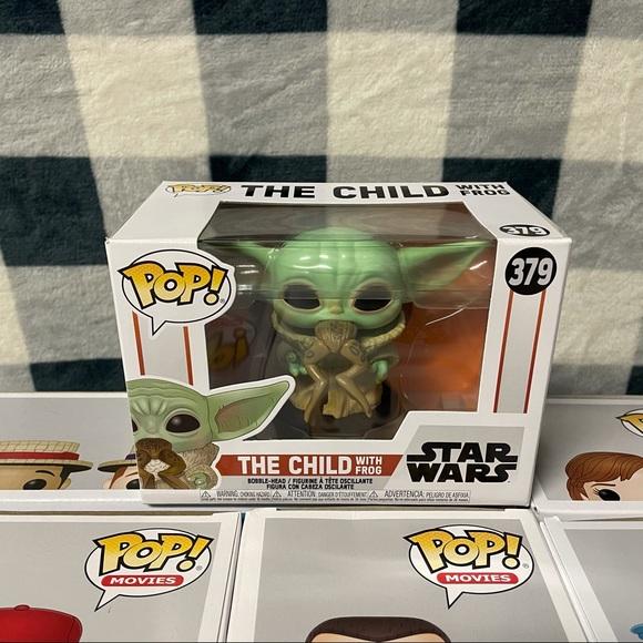 Star Wars The Child w/ Frog Funko Pop! #379